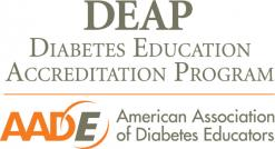 DEAP (Diabetes Education Accreditation Program) logo