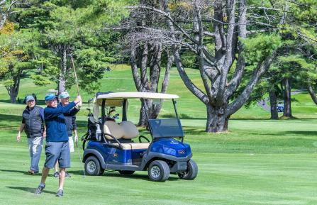 Golfers at the 2019 MAH Golf Classic Tournament