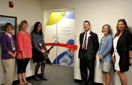 Ribbon Cutting of Private Nursing Suite for Mothers and Babies at MAHHC