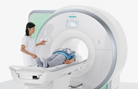 Wide-bore MRI scanner