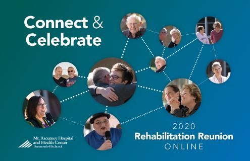 Online Rehabilitation event flyer