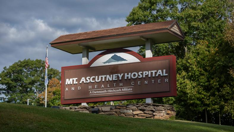 Mt. Ascutney Hospital and Health Center entrance sign